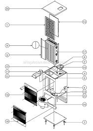 oreck oreck air 4000 parts list and diagram ereplacementparts com