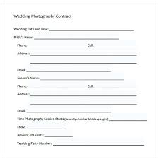 Wedding Photography Contract Pdf | Cycling Studio