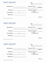 Paid Receipt Form Rent Paid Receipt Template Shooters Journal
