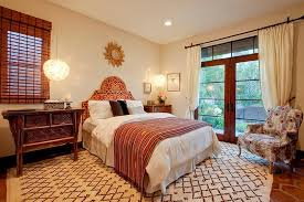 View in gallery Combining Mediterranean touches with Moroccan style gives  the bedroom a more modern appeal
