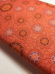 New! Australian Fabric - Caming Ground in N.Gold Orange Aboriginal Blender  by Charlie Egan 100% Cotton M&S Textiles by 1/2… | Aboriginal fabric,  Orange gold, Fabric