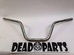harley bull sportster tall dirty flat track handlebars bars ebay