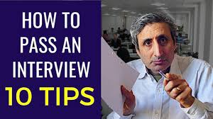 How To Pass A Job Interview The Top 10 Tips