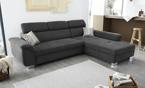 Ecksofa Anthrazit Webstoff Liya Products In 2019