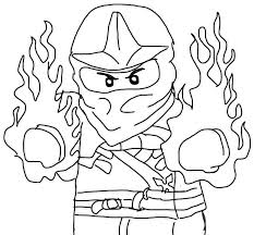 Small Picture Full Size Coloring Pages Of Ninjago Gianfredanet