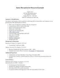 Front Desk Sample Resume Help Desk Coordinator Resume Front Desk