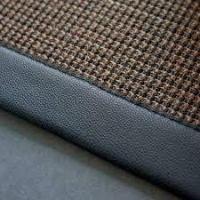 sisal sahara rug this beautifully woven sisal sahara rug finished with a luxurious leather border can be made to custom sizes sisal rugs the crucial rug