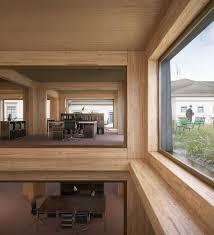 wooden office buildings. Carlana Mezzalira Pentimalli . Le Déjeuner Sur L\u0027herbe Frauenfeld Wooden Office Building Buildings