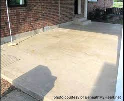 sealing old concrete patio porch sealer staining floors stain etching how to seal n23