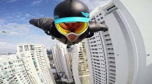 Видео: Полет в костюме вингсьют над Панамой. | Vinegret