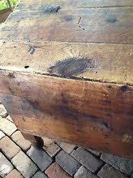 grain bin antique primitive slant top grain bin box