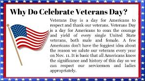 important veterans day facts trivia sad fact about veterans day why do we celebrate veterans day