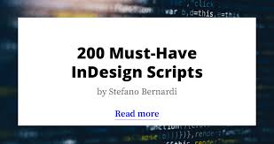 200 must have indesign scripts free