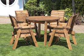 large size of round wooden garden table hgg round wooden garden table and 4 chairs dining