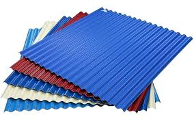 corrugated plastic roofing clear sheets material flat panels sheet high two