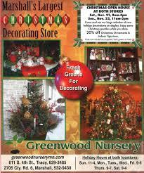 christmas open house flyer greenwood nurserys holiday open house greenwood nursery