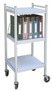 Chart Rack 5 Binder Capacity
