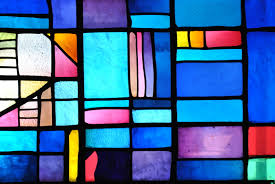 events tissue paper stained glass craft