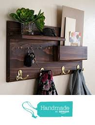Entryway Coat Rack Entryway Coat Rack Mail Storage and Key Hooks from Midnight 98