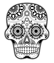 Small Picture Skull Coloring Pages GetColoringPagescom