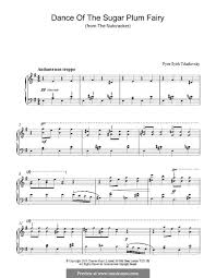 dance of the sugar plum fairy sheet music no 3 dance of the sugar plum fairy the nutcracker suite th 35 op