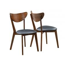 elegant mid century modern dining chairs pertaining to gramercy chair light grey set of 2