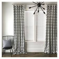 ... Lovely Black And White Window Curtains and Best 25 Black White Curtains  Ideas On Home Decor ...