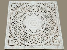 white washed carved white wood wall art panel floral wall hanging decorative unique oriental home decor on rustic white wood wall art with wall art top 10 best pictures white wood wall art large wood wall