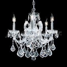 james moder 91805s22 maria theresa grand crystal silver mini chandelier lighting loading zoom