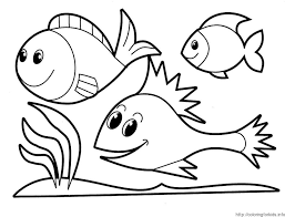 Small Picture Fish Coloring Page Preschool AZ Coloring Pages In Style Give