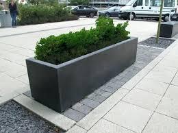 large rectangular planters outdoor uk robust concrete range