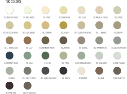C Cure Grout Color Chart Info Color Charts Grout Shield Grout Restoration System