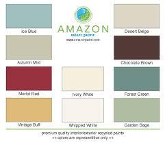 Amazon Paint Color Charts