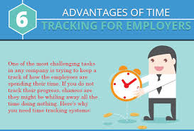 How To Keep Track Of Employees Time Infographic 6 Advantages Of Time Tracking For Employers