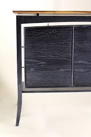urban rustic furniture. Desk Ebonized Ash Gray Glaze Urban Rustic Furniture O