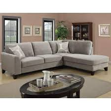 S Porter Reese Dove Grey Sectional Sofa With Optional Ottoman