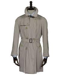 corneliani luxury designer classic style tan color trench coat