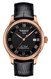 men s watches watches for men nordstrom tissot le locle leather strap watch 39mm
