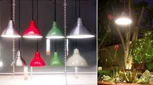garden lighting idea this ikea pendant lamp survives the socal elements