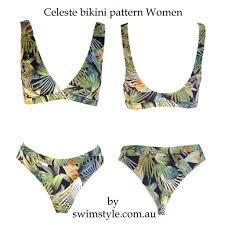 Bikini Patterns Cool Decoration
