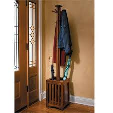 Wooden Coat Rack With Umbrella Holder Stunning Coat And Umbrella Stand Wooden Coat Racks Wood Coat Rack With