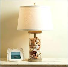 fillable table lamp table lamp with clear base a purchase table lamps beach lamp glass table