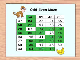 Prime And Odd Numbers Chart How To Teach Even And Odd Numbers 10 Steps With Pictures