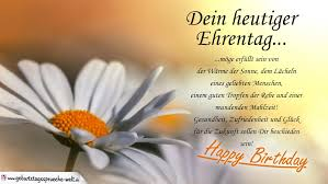 Dein Heutiger Ehrentag Liebe Wünsche Zum Geburtstag