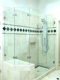 brilliant shower shower door installation cost glass estimator custom in frameless shower door installation cost i