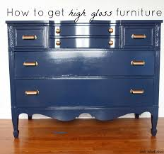 Painting Old Bedroom Furniture Check This Paint Outthe Little Black Door High Gloss Dresser