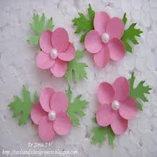 Made Flower With Paper Cards Crafts Kids Projects Handmade Flower Tutorials