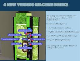 How To Fill Vending Machines Sims 4 Magnificent Mod The Sims 48 Vending Machine Drinks And Vending Machine Recolor