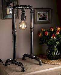 Diy Pipe Lamps Ideas Decor Its