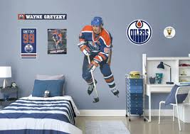 hockey wall decal life size fathead wall decal shop fathead wall decal wall  decals . hockey wall decal wall mural ...